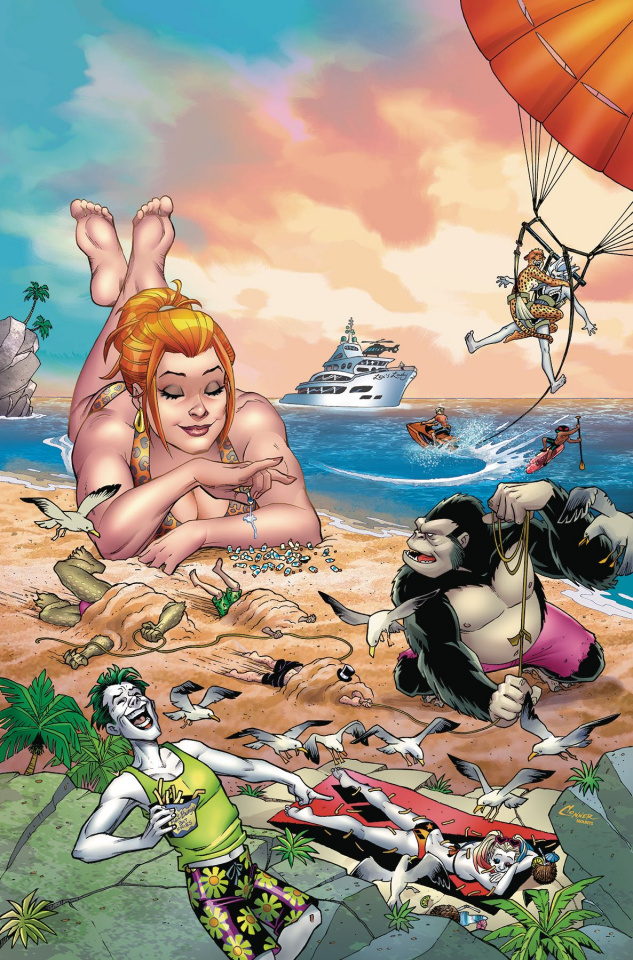DC Beach Blanket: Bad Guys Special #1