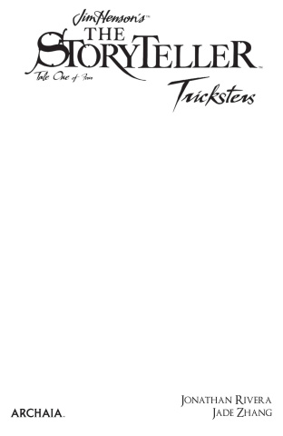 The Storyteller: Tricksters #1 (Blank Sketch Cover)