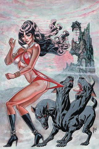 Vampirella #7 (40 Copy March Virgin Cover)