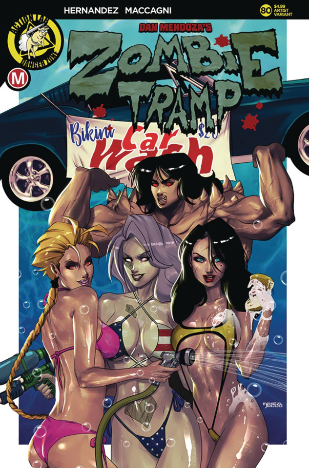 Zombie Tramp #80 (Mastajwood Cover)