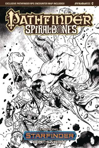 Pathfinder: Spiral of Bones #2 (Galindo B&W Cover)