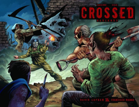 Crossed: Badlands #64 (Wrap Cover)