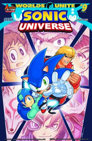 Sonic Universe #78 (Spaz Cover)