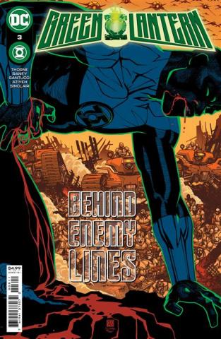 Green Lantern #3 (Bernard Chang Cover)