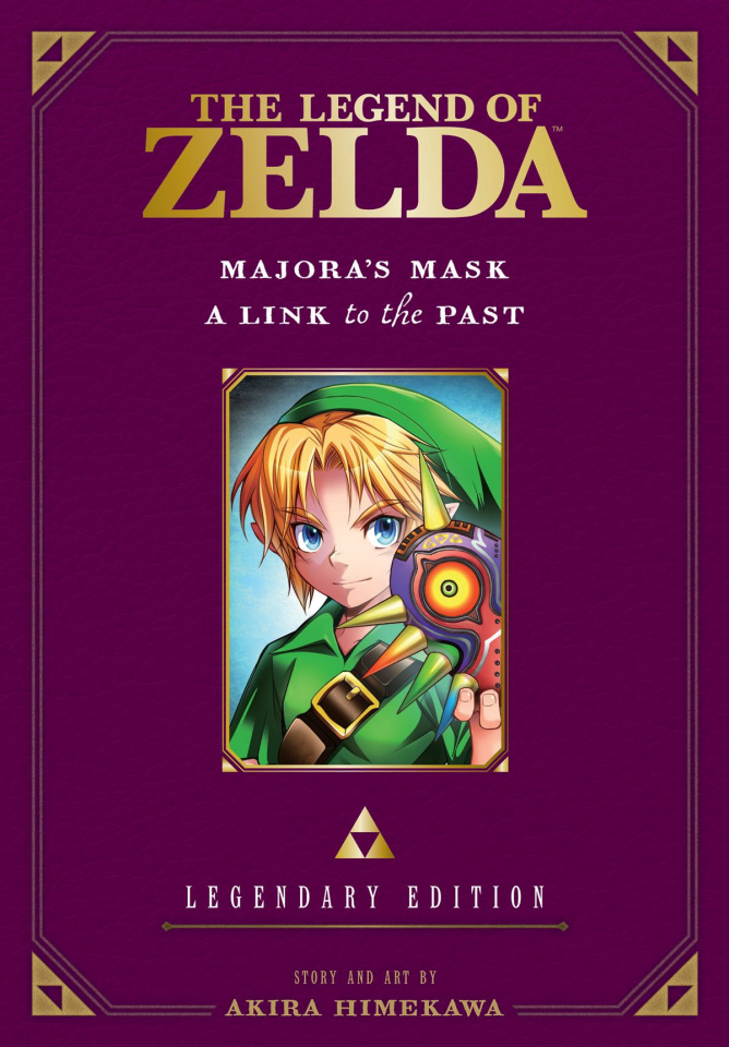 The Legend of Zelda: Legendary Edition Vol. 3: Majora's Mask and A Link to the Past