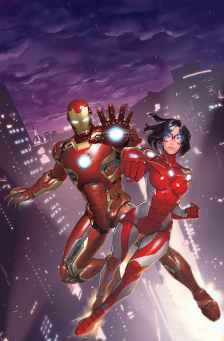 Iron Man: Hong Kong Heroes #1 (Gang Hyuk Lim Cover)