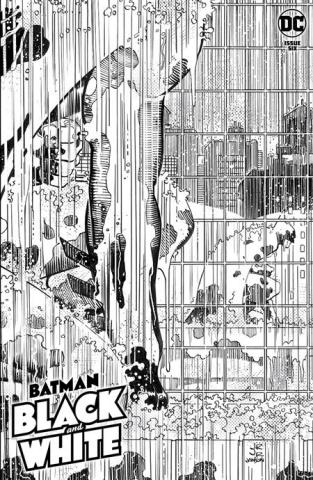 Batman: Black & White #6 (John Romita Jr & Klaus Janson Cover)