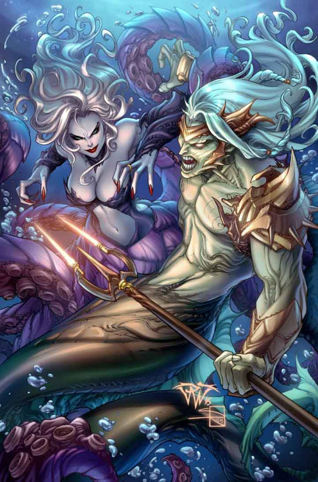 Grimm Fairy Tales: The Little Mermaid #4 (Pantalena Cover)