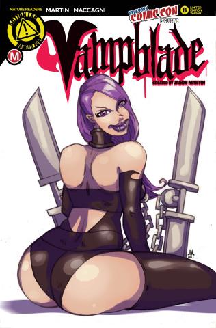 Vampblade #8 (NYCC Cover)