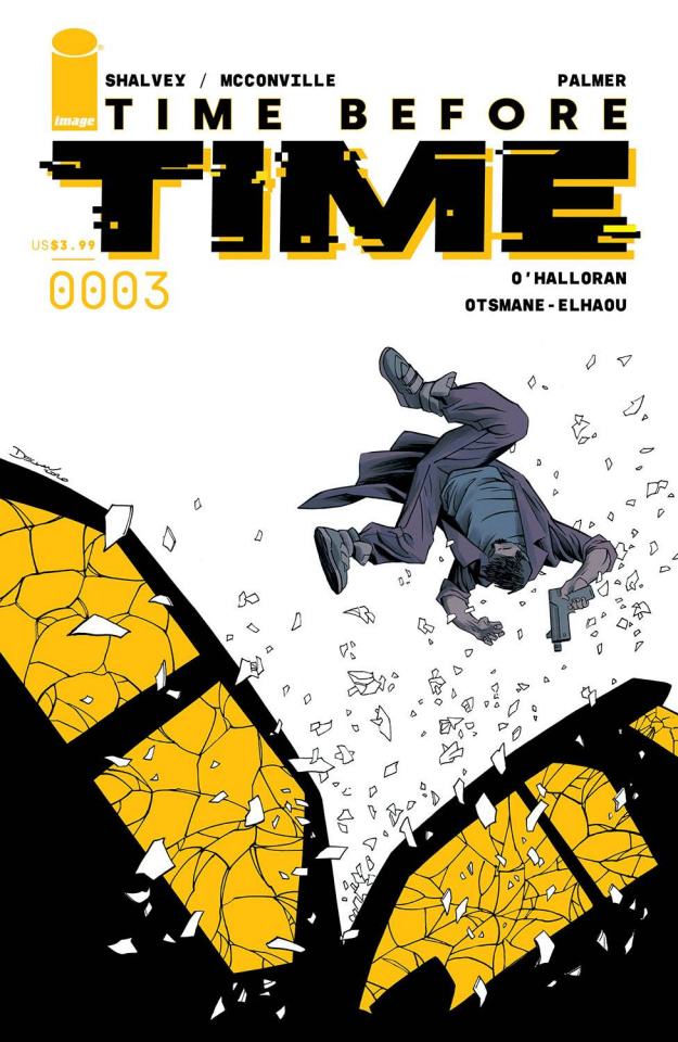 Time Before Time #3 (Shalvey Cover)