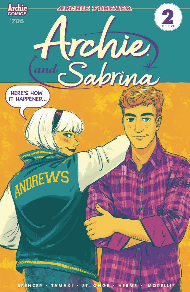 Archie #706 (Archie & Sabrina Fish Cover)