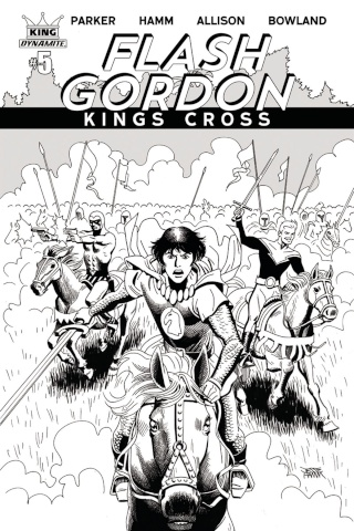Flash Gordon: Kings Cross #5 (10 Copy Hamm Cover)