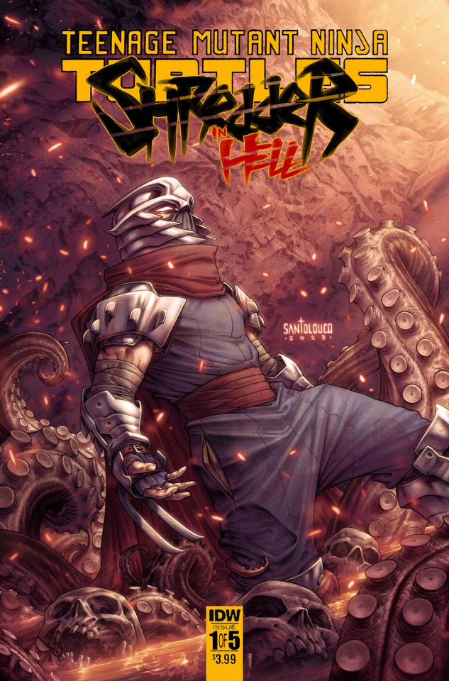 Teenage Mutant Ninja Turtles: Shredder in Hell #1 (Santolouco Cover)