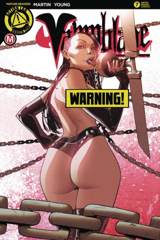 Vampblade #7 (Jaro Risque Cover)