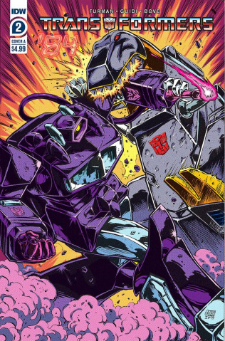 The Transformers '84: Secrets & Lies #2 (Guidi Cover)