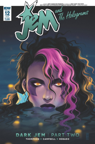 Jem and The Holograms #12 (Subscription Cover)