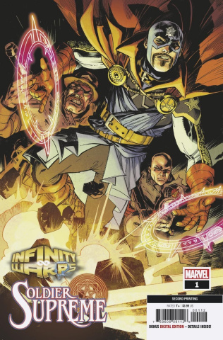 Infinity Wars: Soldier Supreme #1 (Kubert 2nd Printing)