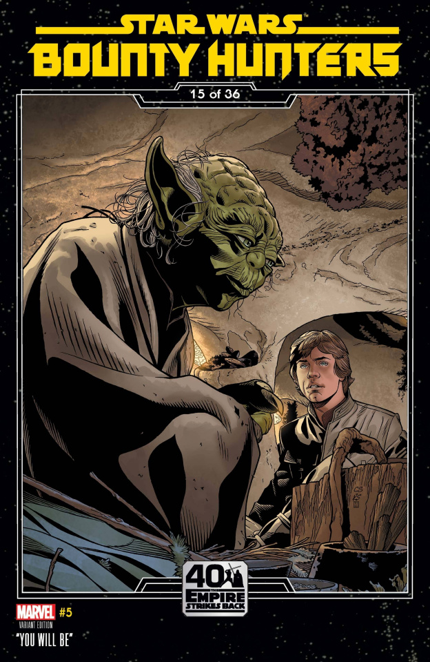 Star Wars: Bounty Hunters #5 (Sprouse Empire Strikes Back Cover)