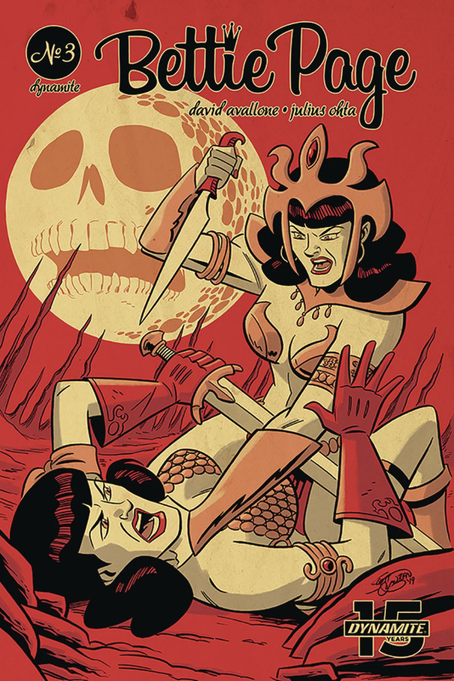 Bettie Page: Unbound #3 (Chantler Cover)