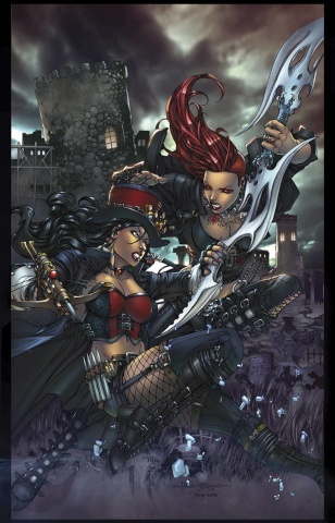 Grimm Fairy Tales: Hellchild #1 (Tolibao Cover)