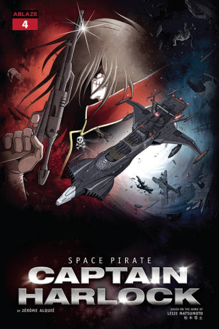 Space Pirate: Captain Harlock #4 (Alquie Cover)