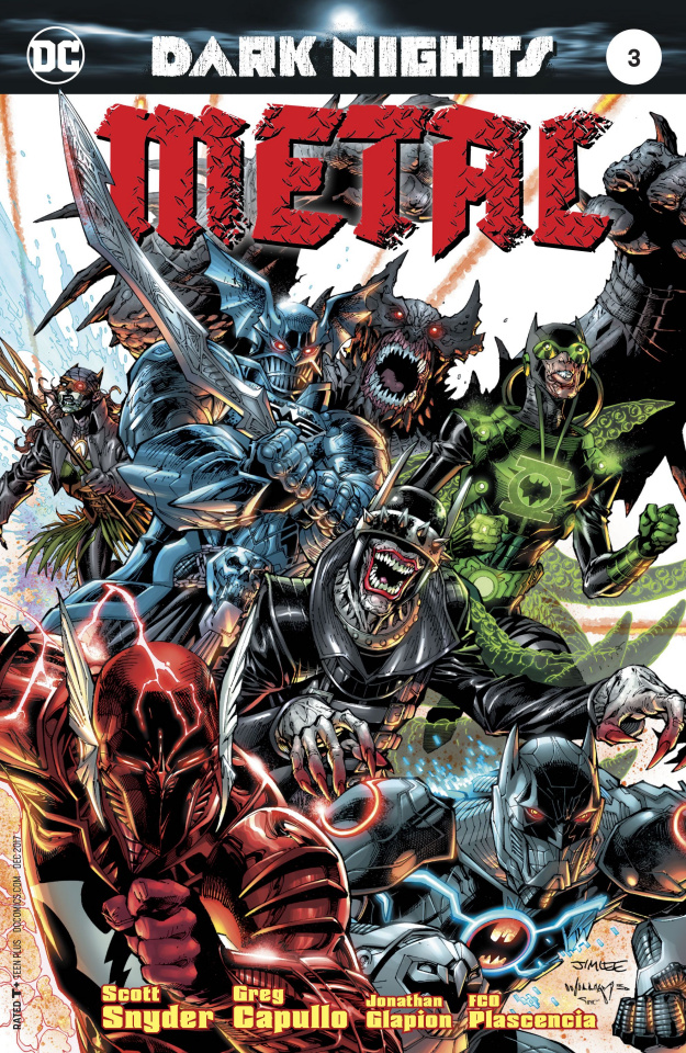 Dark Nights: Metal #3 (Lee Cover)