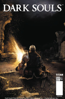 Dark Souls #3 (Game Cover Cover)