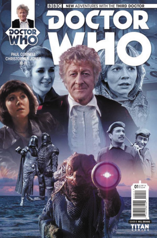 Doctor Who: New Adventures with the Third Doctor #1 (Photo Cover)