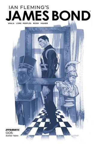 James Bond #5 (11 Copy Cheung Tint Cover)