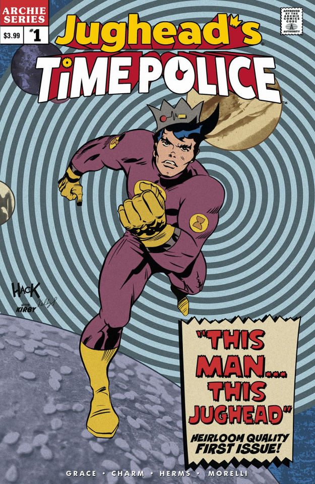 Jughead's Time Police #1 (Hack Cover)