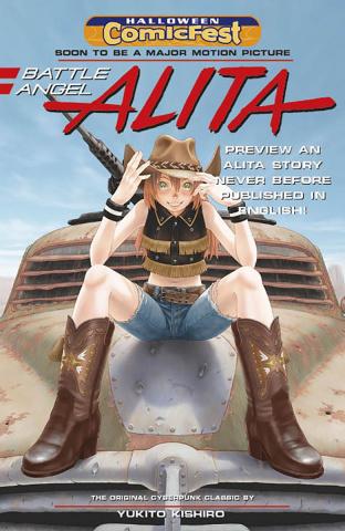 Battle Angel Alita: Homecoming (Halloween ComicFest 2018)