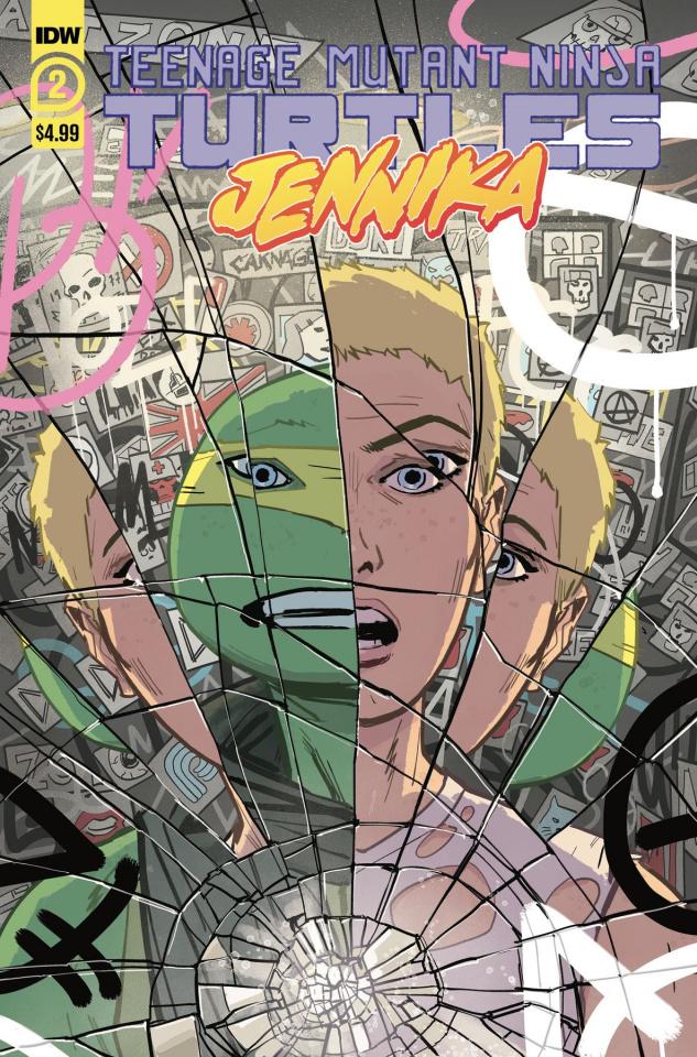 Teenage Mutant Ninja Turtles: Jennika #2 (Revel Cover)