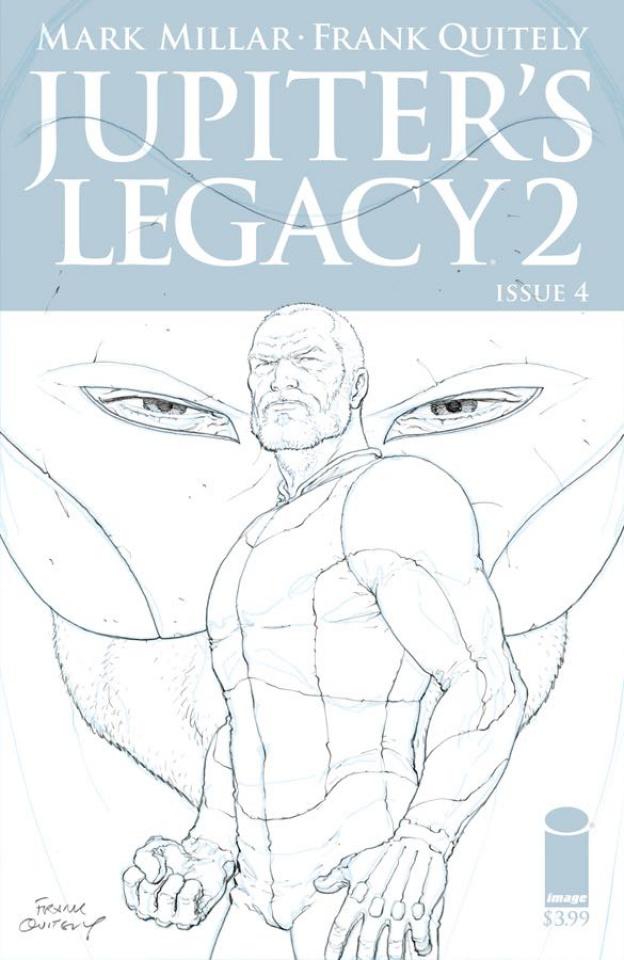 Jupiter's Legacy 2 #4 (25 Copy Quitely Sketch Cover)
