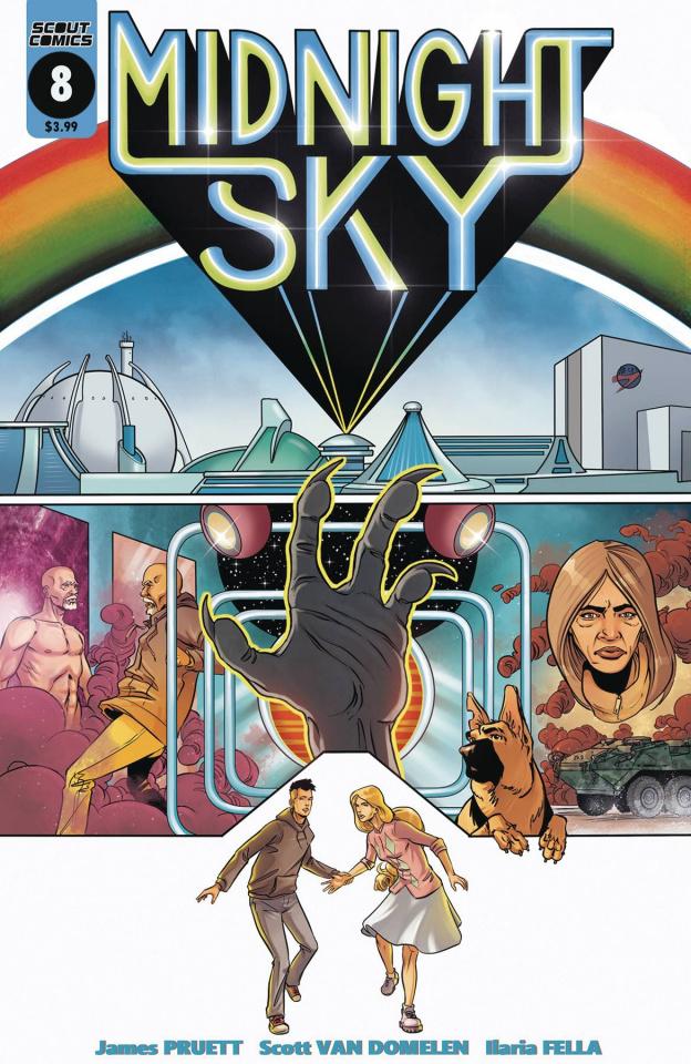 Midnight Sky #8 (Van Domelen Logans Run Homage Cover)