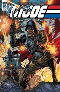 G.I. Joe: A Real American Hero #245 (Royle Cover)