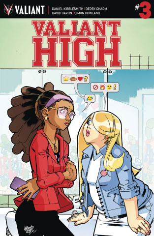 Valiant High #3 (Lafuente Cover)