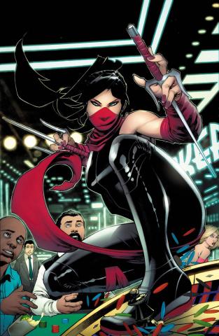 Elektra #4 (Stevens Cover)