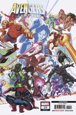 Avengers: No Road Home #10 (Izaakse 2nd Printing)
