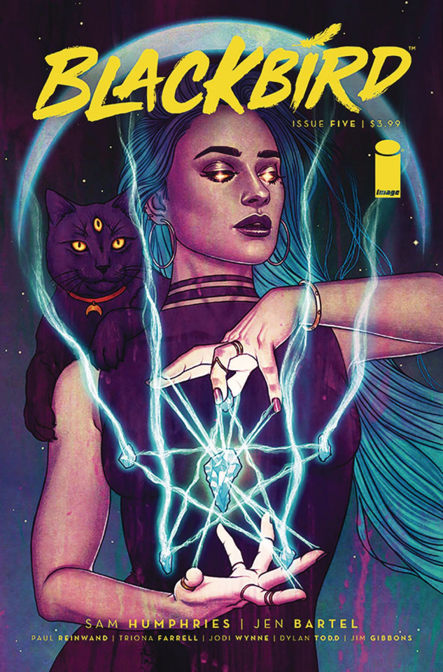Blackbird #5 (Frison Cover)