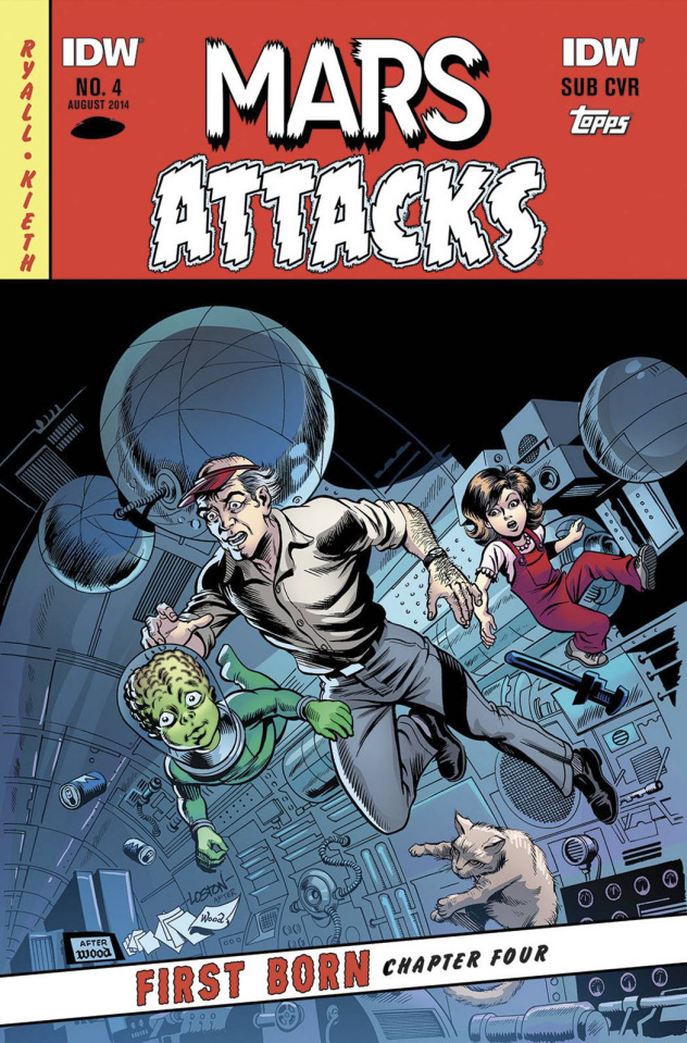 Mars Attacks First Born #4 (Subscription Cover)