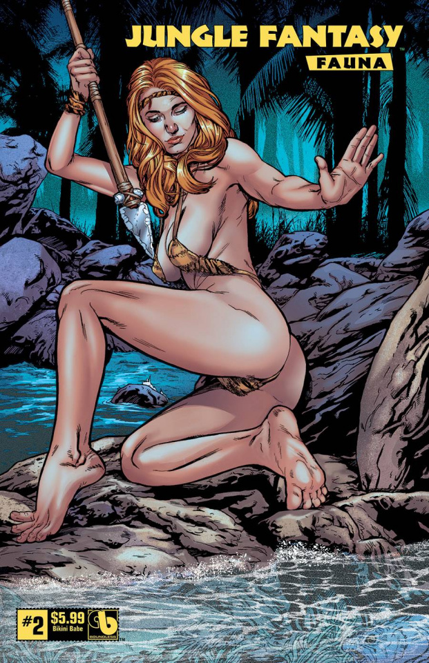 Jungle Fantasy: Fauna #2 (Bikini Babe Cover)