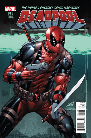 Deadpool #13 (Liefeld Cover)