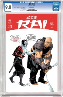 Rai #13 (CGC Replica Henry Cover)