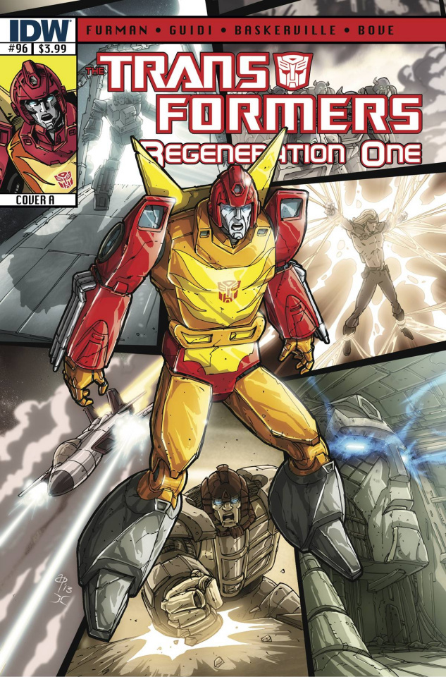 The Transformers: Regeneration One #96