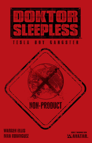 Doktor Sleepless #2 (Warning Sign Cover)
