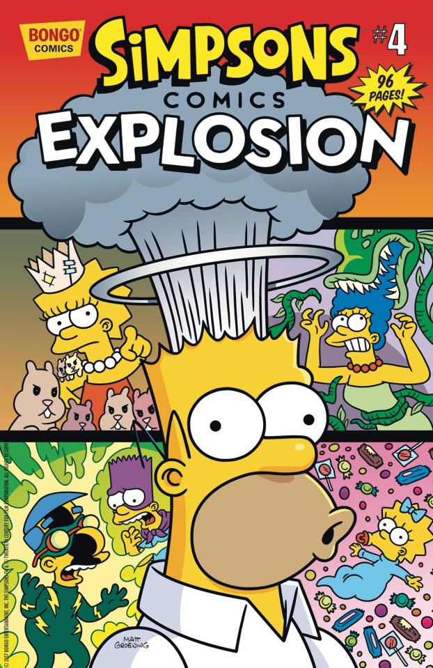 Simpsons Comics Explosion #4
