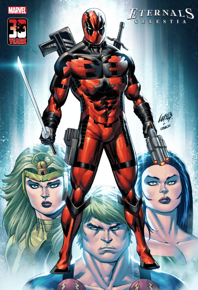 Eternals: Celestia #1 (Liefeld Deadpool 30th Anniversary Cover)