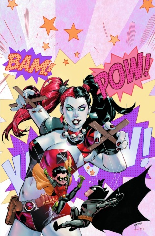 Batman and Robin #39 (Harley Quinn Cover)