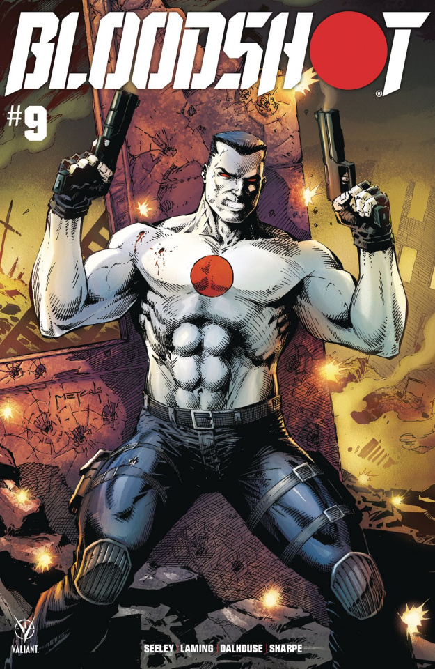 Bloodshot #9 (Metcalf Cover)