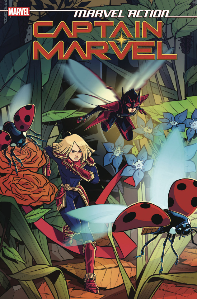 Marvel Action: Captain Marvel #5 (Boo Cover)